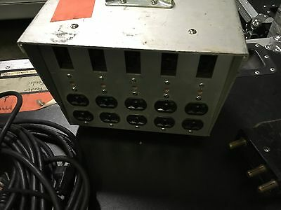 AC Power Distribution, Inc LB100 gang box 100amp bates connector
