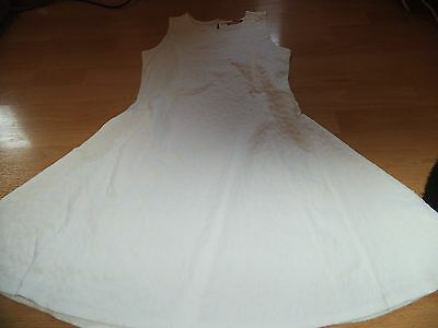 Girls White Dress YOUNG DIMENSION Age 12-13
