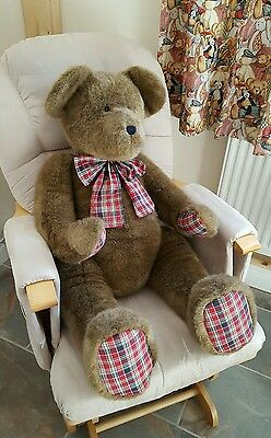 """BRAND NEW Gorgeous Large Brown Jointed """"Boyds Collection"""" Collectable Teddy Bear"""