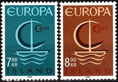 EUROPA CEPT. Iceland 1966 (**)