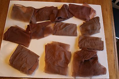 Lot Of Vintage Nylon Garter Stockings Hose - 2 Pair And Mismatches