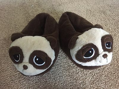 Children's Small Panda Bear Slippers 2 To 4 Years