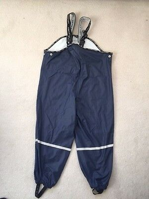 Polarn o Pyret Rain trousers Kids Size 122/128cm 7-8 years Blue