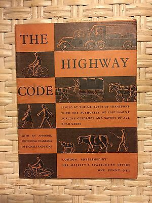 The highway Code Antique Retro