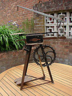 "Treadle Bandsaw Hobbies ""The Gem"" Foot Operated Saw Vintage Craft Global Ship"