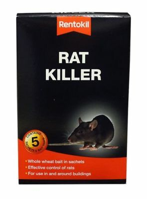 Rentokil Rat Killer Bait Sachets Easy To Use Highly Effective Indoor & Outdoor