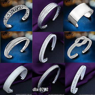 Wholesale Fashion Jewellery Solid925 Silver Bracelet Solid Silver bangle XMAS