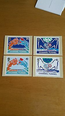 Royal Mail PHQ Cards - Channel Tunnel - Set 161