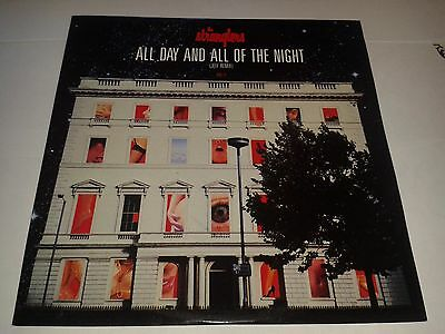"""Stranglers - """"All Day And All Of The Night""""  12"""" Jeff remix  (1987) EX / VICE T1"""