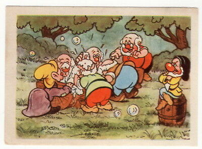 Vintage 1940 Snow White and the Seven Dwarfs Card #64
