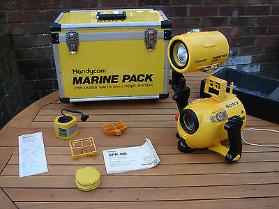 Sony Handycam Marine Light Pack MPK-M8 Underwater Video Camera Flight Case