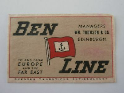 Vintage Match Box / Matchbox  Label807