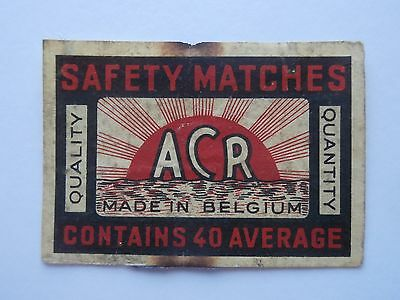 Vintage Match Box / Matchbox  Label932