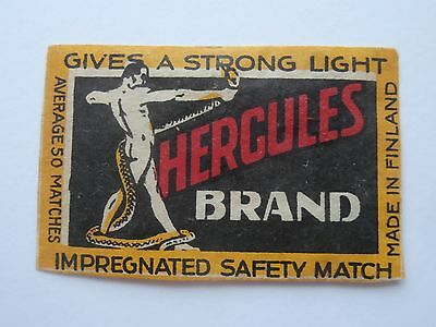 Vintage Match Box / Matchbox  Label948