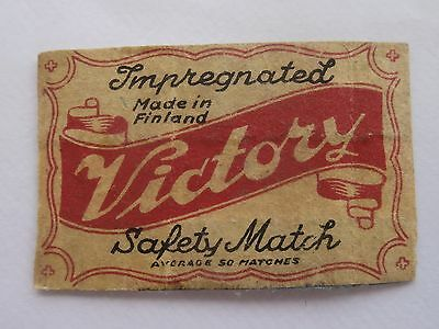 Vintage Match Box / Matchbox  Label120
