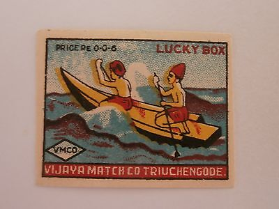 Vintage Match Box / Matchbox Label646