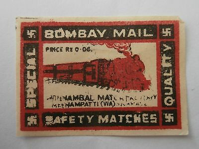 Vintage Match Box / Matchbox  Label1120