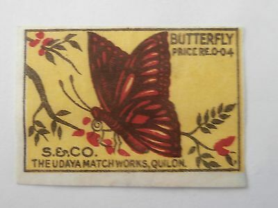 Vintage Match Box / Matchbox  Label1108