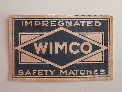 Vintage Match Box / Matchbox  Label530