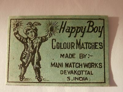 Vintage Match Box / Matchbox  Label161