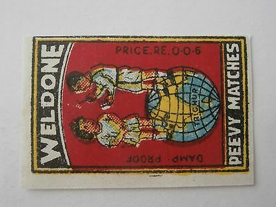Vintage Match Box / Matchbox  Label820