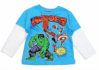GYMBOREE GYM FRIENDS Marvel Characters #SUPER S//S TEE 2T NWT