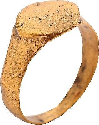 ANCIENT VIKING MAN'S RING C.900-1000 A.D.Size 9.25