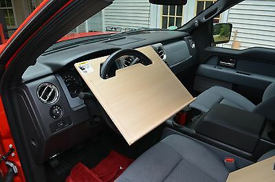 Car/Truck Executive Steering Wheel Desk, Eating, Writing, Vehicle Work Station
