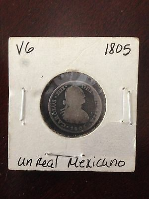 Mexican Real Coin