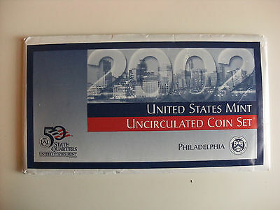 2002 United States Uncirculated 10 Coin Set Philadelphia