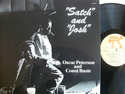 Oscar Peterson And Count Basie – Satch And Josh Vinyl, LP 2310 722 UK 1975