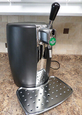 T-Fal VB21-B80 BeerTender Home Beer-Tap System, Black/Chrome wManual Tubes Nice