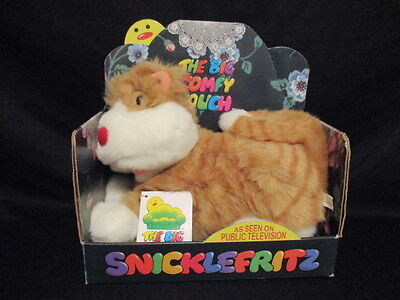 1995 The Big Comfy Couch Snicklefritz Granny Garbanzo's Cat  Commonwealth in Box