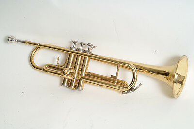 Holton Trumpet working, STUCK MOUTHPIECE.