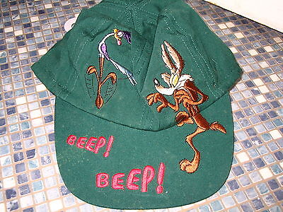 Roadrunner & Wile Coyote Childrens Cap Warner Brothers M & S Brand New Very Rare