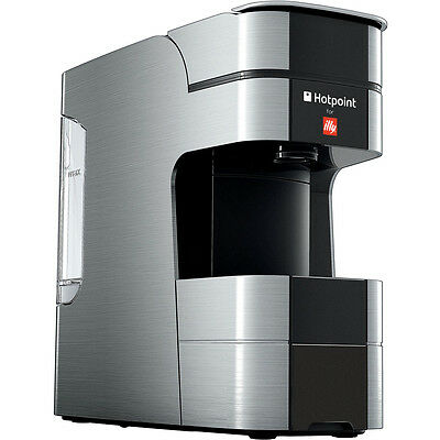 Hotpoint for Illy Espresso Coffee Machine (Includes Pods) - Stainless Steel