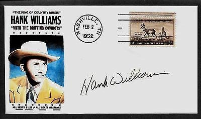 1950s Hank Williams Sr Country Music Limited Edition Collector's Envelope *Z239