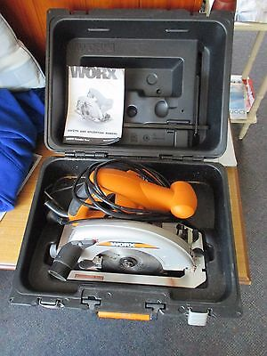 Worx 185 mm 1400W Circular Saw - Very Good Condition