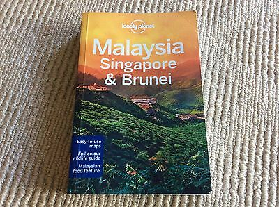 Malaysia Singapore and Brunei Guide Lonely Planet Book