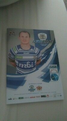 Halifax v Oldham Programme May 2016