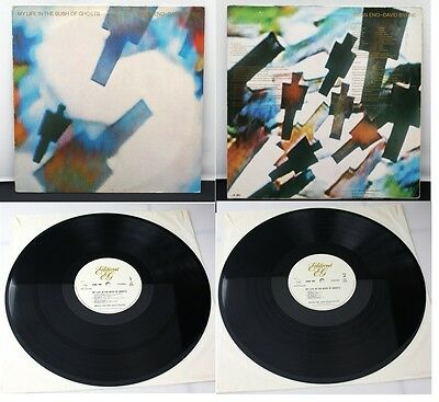 Brian Eno David Byrne My Life In The Bush Of Ghosts Vinyl LP 2302-100 Holland