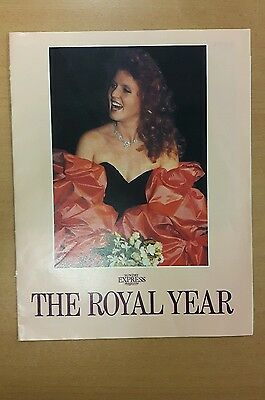 The Royal Year Sunday Express Magazine Supplement 1988
