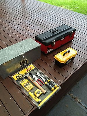 Stanley 13pc Tool Set And 3 Toolboxes New Old Stock P/up Essendon Melb