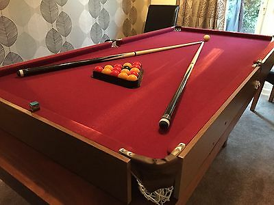 6FT Folding Table Snooker Table With Balls and Other Accessories