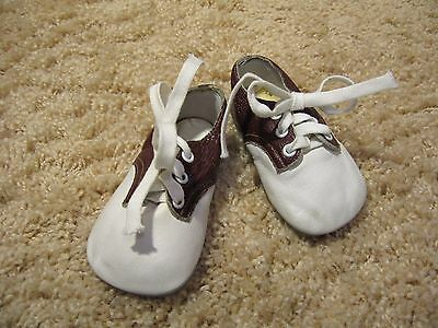 Vintage  Leather Rock & Roll Baby Shoes