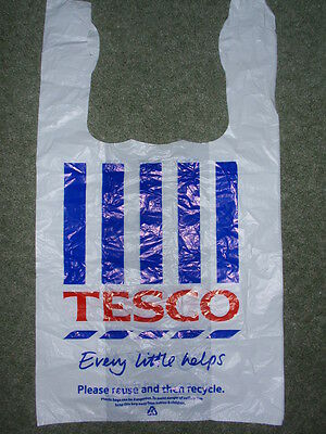 Vintage/ Collectable - New  'Tesco'  Large Plastic Carrier Bag