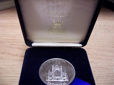 Winchester Cathedral Medallion In Box
