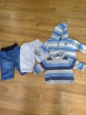 Small Baby Boys Bundle Age 0-3 Months