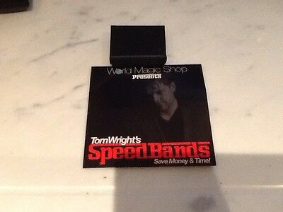 Tom Wrights Speed Bands Magic Dvd And Gimmick