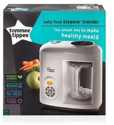 Tommee Tippee Baby Food Steamer Blender  New Version Jug And Blade !! NEW IN BOX
